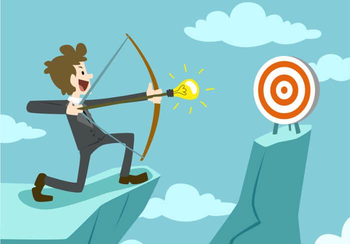 Les entrepreneurs à succès se fixent des objectifs précis