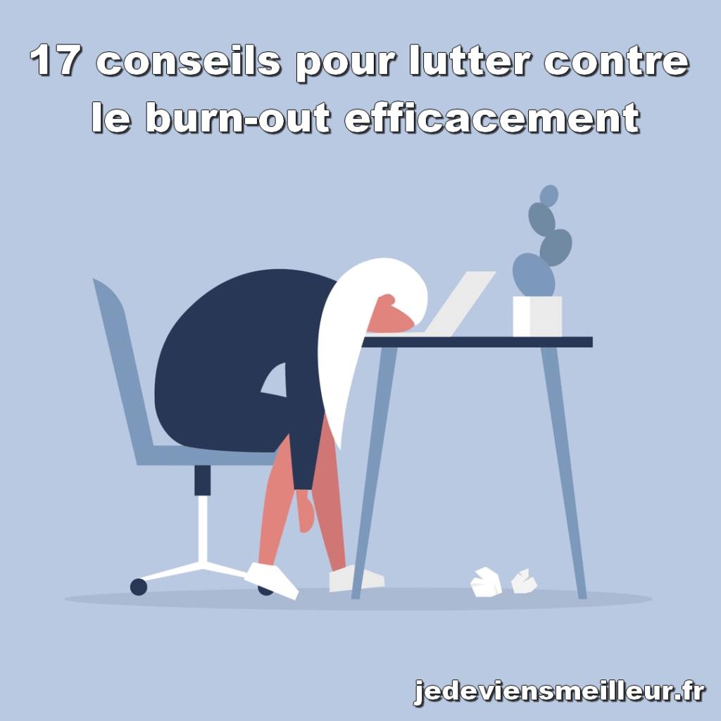 Lutter efficacement contre le burnout