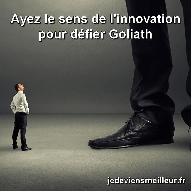 Avoir le sens de l'innovation fait partie des 22 lois immuables du marketing
