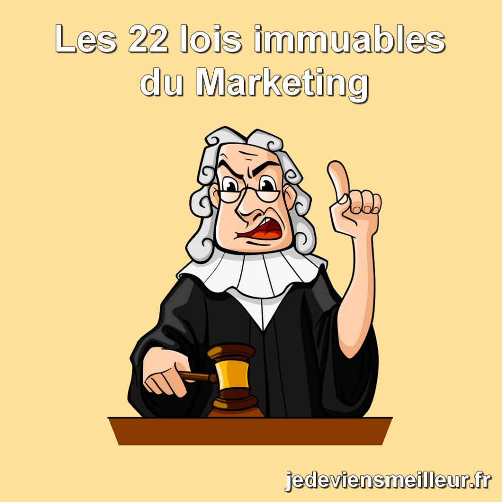 Les 22 lois immuables du marketing