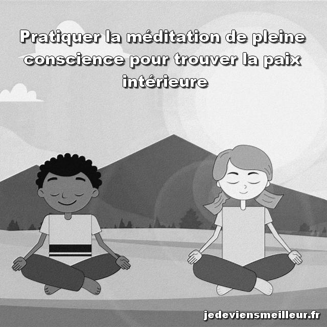 Pratiquer la méditation de pleine conscience est un bon moyen de lutter contre le burnout de l'entrepreneur