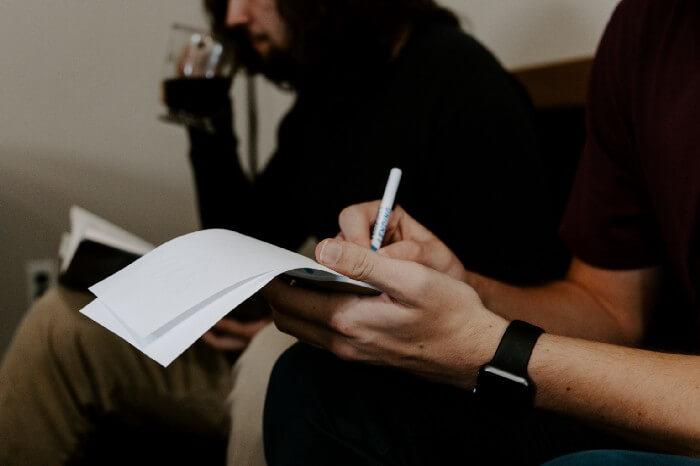 Prendre des notes est un bonne habitude pour augmenter sa productivité