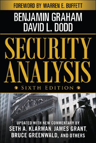 Security Analysis by Benjamin Graham et David L. Dodd