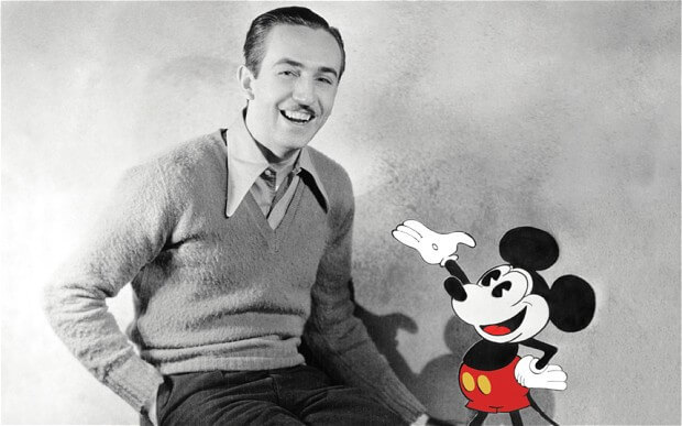 Walt Disney a été renvoyé d'un journal pour manque d'imagination