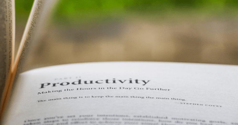 Vous pouvez tout aussi bien maximiser votre productivité en suivant ces 3 conseils