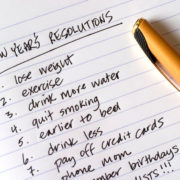 Agir immédiatement est le meilleur moyen de tenir vos bonnes résolutions