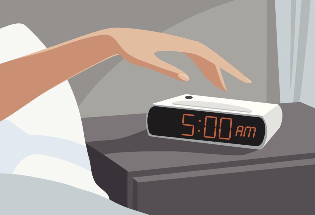 5 excellentes raisons de se réveiller à 5 heures du matin chaque jour